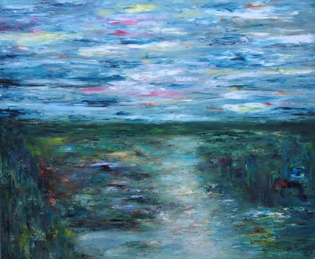 Eme O. Willie maleri - Natur vidunder nr 1